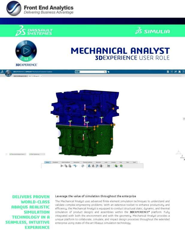 Mechanical Analyst SMU brochure
