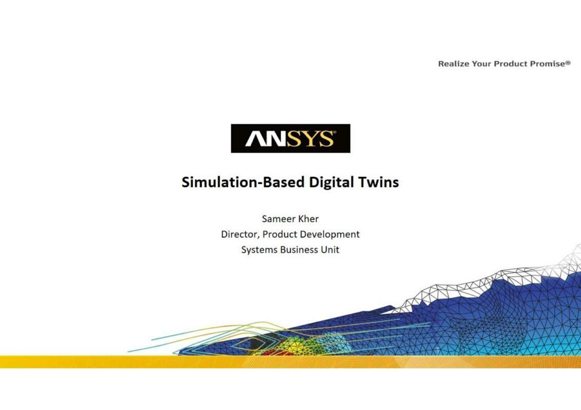 Simulation Based Digital Twins