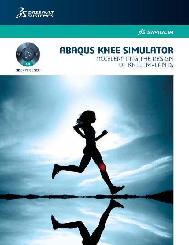 Simulia Abaqus Knee Simulator Brochure