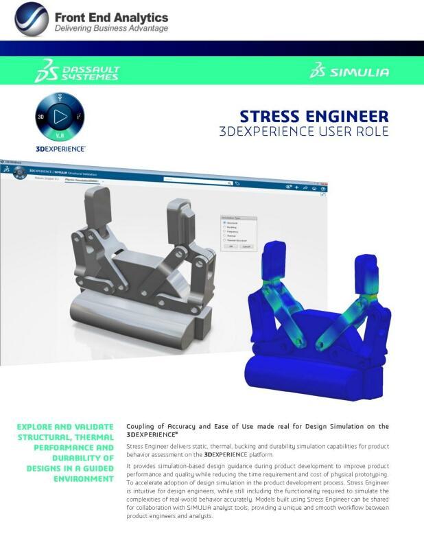 Stress Engineer MDS brochure