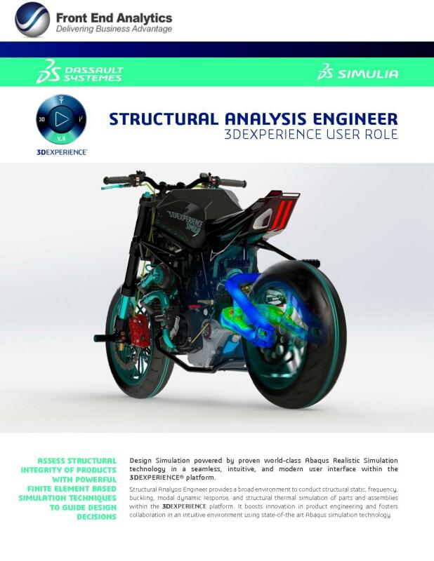 Structural Analysis Engineer DRD brochure