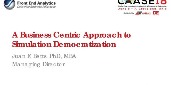 Democratization: A Business Centric Approach