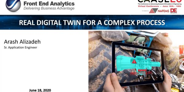 Real Digital Twin for a Complex Process