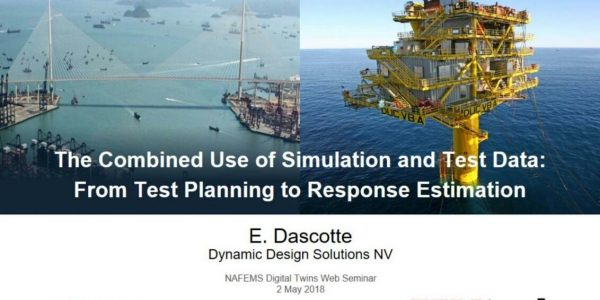 Combined Use of Simulation & Test Data